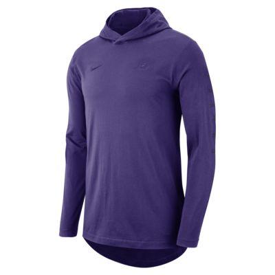 Los Angeles Lakers Nike Men's Hooded Long-Sleeve NBA T-Shirt
