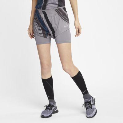 Löparshorts Nike 2-i-1 för kvinnor