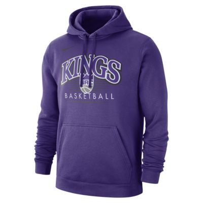 Sacramento Kings Nike NBA-s kapucnis férfipulóver