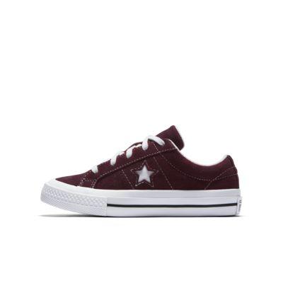Converse One Star Vintage Suede Low Top Boys' Shoe
