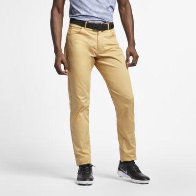 Calças de golfe de corte estreito com 5 bolsos Nike Flex para homem
