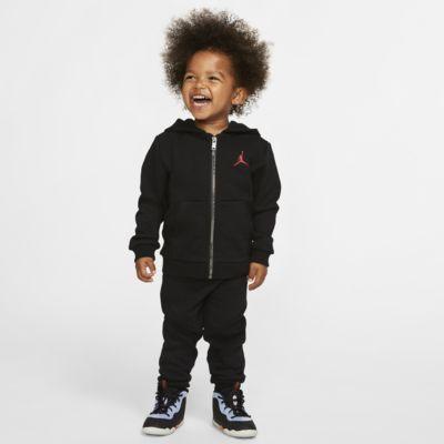 2-delt Jordan Jumpman-sæt med hættetrøje og joggingbukser til babyer (12-24M)