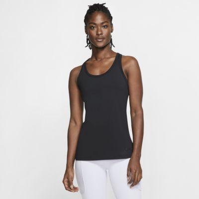 Nike Get Fit treningssinglet til yoga til dame