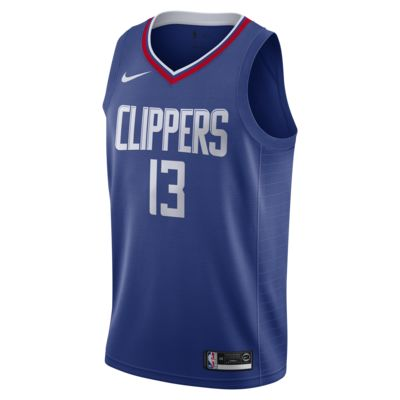 Paul George Clippers Icon Edition Men's Nike NBA Swingman Jersey