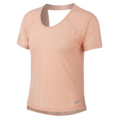 Nike Breathe Miler-løbeoverdel til kvinder