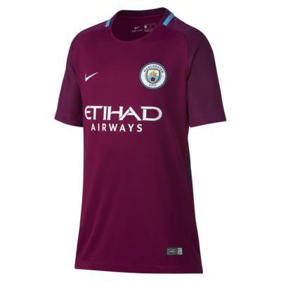 Купить Футбольное джерси для школьников 2017/18 Manchester City FC Stadium Away