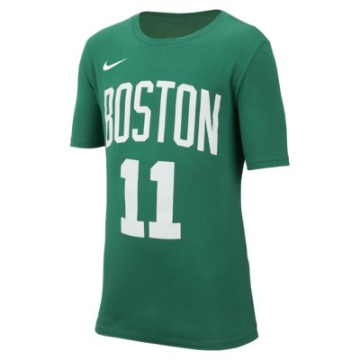 Tee-shirt de basketball Nike Icon NBA Celtics (Irving) pour Garçon plus âgé