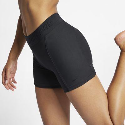 "Nike Pro HyperCool Women's 5"" Ribbed Yoga Shorts"