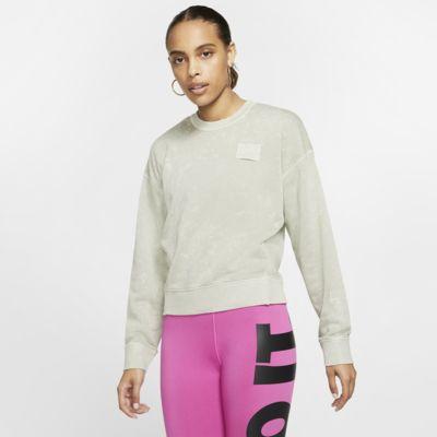 Tröja med rund hals i frotté Nike Sportswear för kvinnor