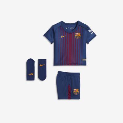 2017/18 赛季巴萨主场婴童足球球迷套装