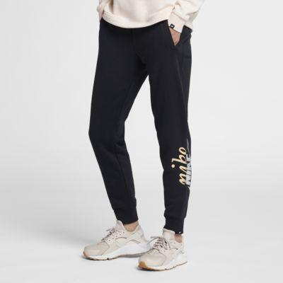 กางเกงผู้หญิงผ้าเมทัลลิก Nike Sportswear Rally