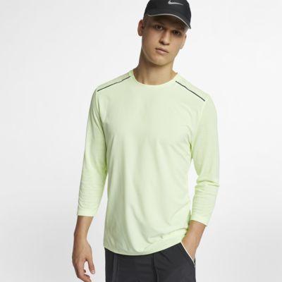 Pánský běžecký top Nike Rise 365 Tech Pack s tříčtvrtečním rukávem
