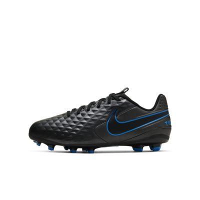 รองเท้าสตั๊ดฟุตบอลเด็กเล็ก/โตสำหรับพื้นหลายประเภท Nike Jr. Tiempo Legend 8 Academy MG