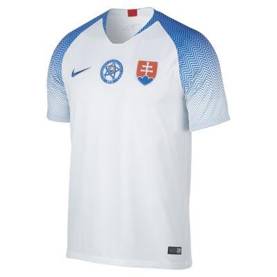 Camiseta de fútbol para hombre 2018 Slovakia Stadium Home
