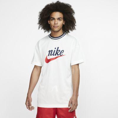 Ανδρική μπλούζα από διχτυωτό υλικό με σχέδιο Nike Sportswear