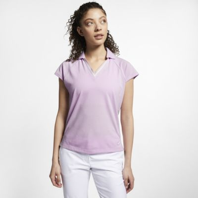 Женская рубашка-поло для гольфа Nike Dri-FIT