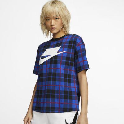 Nike Sportswear Women's Short-Sleeve Printed Top