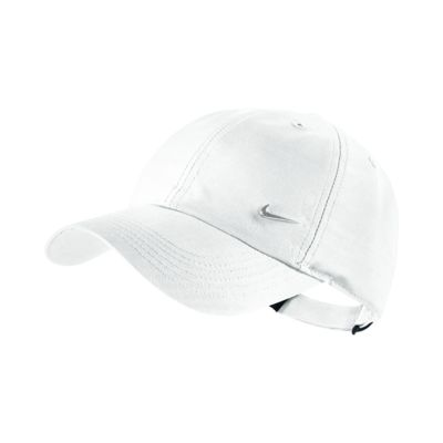 Gorra ajustable para niños talla grande Nike Metal Swoosh