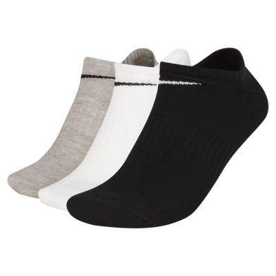 Χαμηλές κάλτσες προπόνησης Nike Everyday Lightweight (3 ζευγάρια)