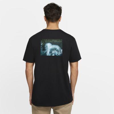 T-shirt com ajuste premium Hurley Premium Clark Little Drone para homem