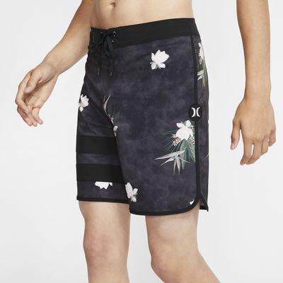 "Hurley Phantom Block Party Paradise Men's 18"" Board Shorts"