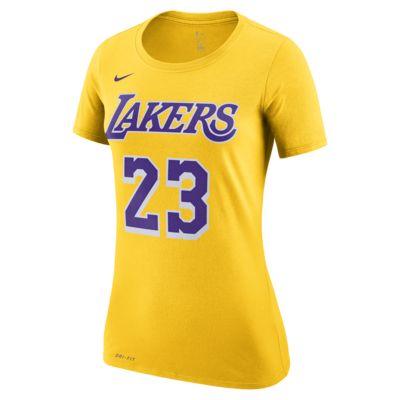 LeBron James Los Angeles Lakers Nike Dri-FIT Women's NBA T-Shirt