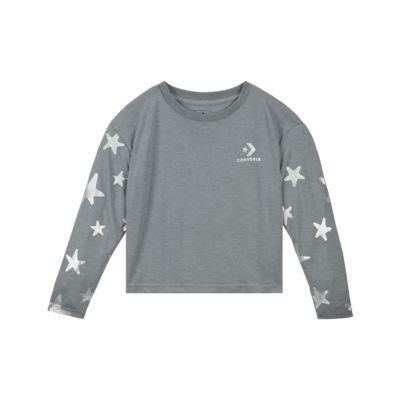 Converse All Star  Big Kids' (Girls') Knit Metallic Top