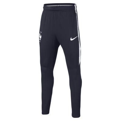 Pantalon de football FFF Dri-FIT Squad pour Enfant plus âgé