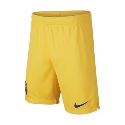 Shorts de fútbol para niño talla grande de local/visitante Stadium del FC Barcelona 2019/20