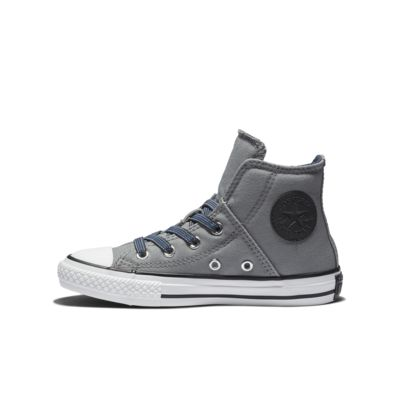 Converse Chuck Taylor All Star Pull-Zip Canvas High Top  Big Kids' Shoe