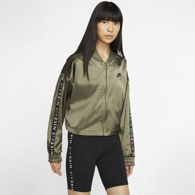 Nike Air treningsjakke med sateng til dame