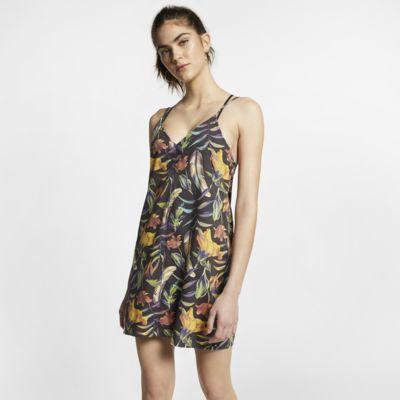 Blommönstrad klänning Hurley för kvinnor