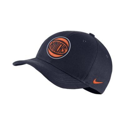 Бейсболка НБА New York Knicks City Edition Nike AeroBill Classic99