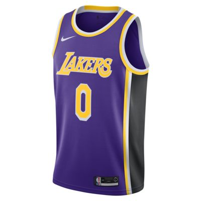 洛杉矶湖人队 (Kyle Kuzma) Statement Edition Nike NBA Swingman Jersey 男子球衣