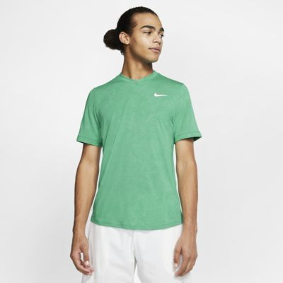 Prenda para la parte superior de tenis de manga corta para hombre NikeCourt Dri-FIT Challenger