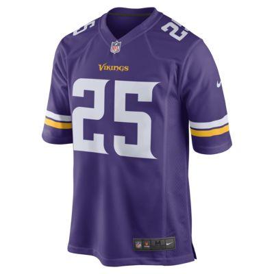 Camiseta de fútbol americano de local para hombre NFL Minnesota Vikings (Latavius Murray)