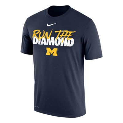 Nike College Dri-FIT (Michigan) Men's T-Shirt