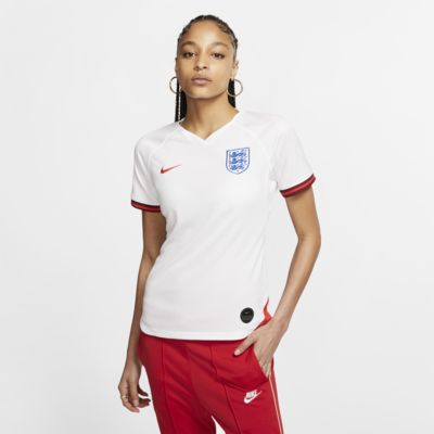 Camiseta de fútbol para mujer England 2019 Stadium Home