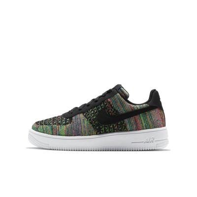 Nike Air Force 1 Flyknit 2.0 YoungerOlder Kids' Shoe. Nike SE