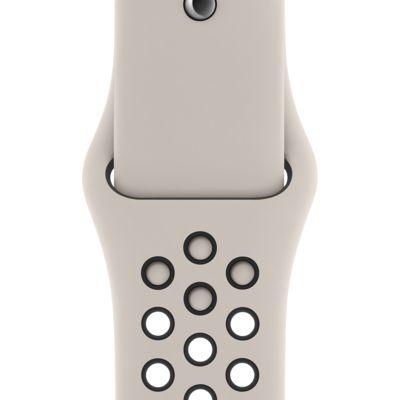 Pasek sportowy 40 mm Apple Watch Nike w kolorze czarnym lub Desert Sand
