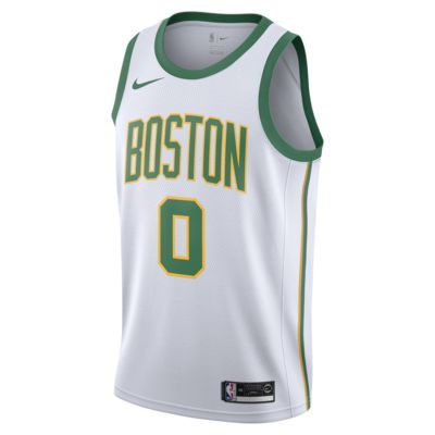 Jayson Tatum City Edition Swingman (Boston Celtics) Men's Nike NBA Connected Jersey