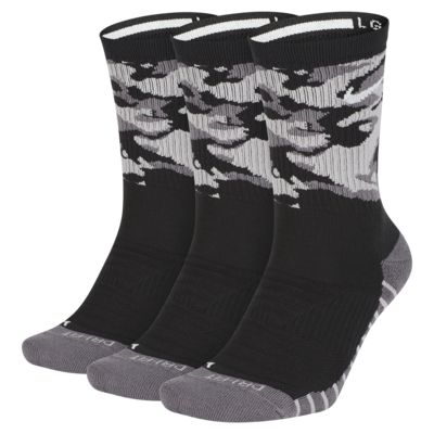 Nike Everyday Max Cushion Camo Training Crew Socks (3 Pairs)