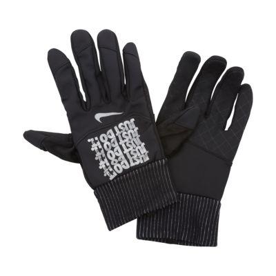 Męskie rękawiczki do biegania Nike Shield JDI Flash