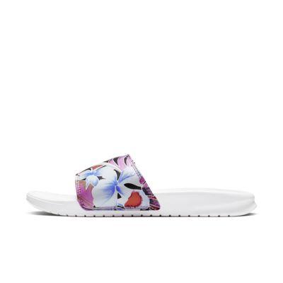Slider Nike Benassi JDI Floral - Donna