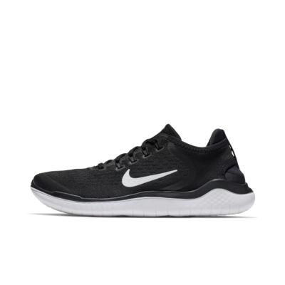 Купить Мужские беговые кроссовки Nike Free RN 2018, Черный/Белый, 20995044, 12113350