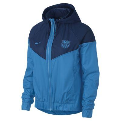 Женская куртка FC Barcelona Windrunner