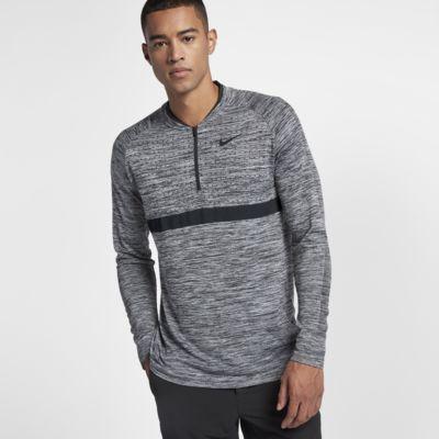 Pánský golfový top Nike Dri-FIT s polovičním zipem