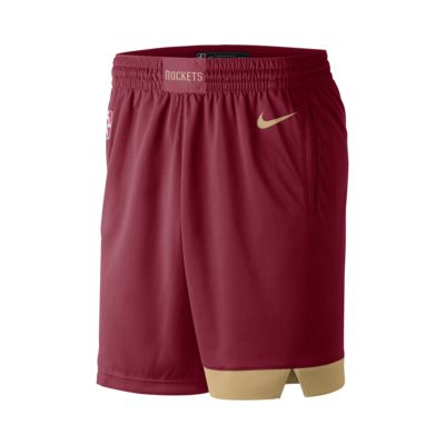Shorts Nike de la NBA para hombre Houston Rockets City Edition Swingman