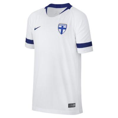 2018 Finland Stadium Home Voetbalshirt voor kids