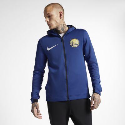 Felpa Golden State Warriors con cappuccio Nike Therma Flex Showtime NBA - Uomo